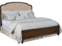 American Drew Grantham Hall Deep Coffee Tone Queen Size Panel Bed