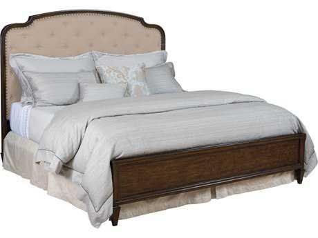 American Drew Grantham Hall Deep Coffee Tone King Size Panel Bed
