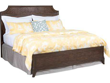 American Drew Grantham Hall Deep Coffee Tone Full & Queen Size Panel Bed