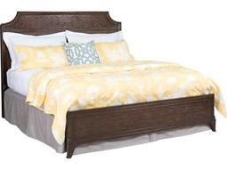 American Drew Grantham Hall Deep Coffee Tone California King Size Panel Bed