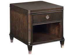 American Drew Grantham Hall Deep Coffee Tone 24''L x 28''W Drawer End Table