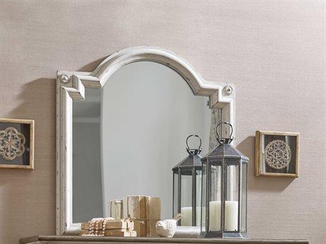 American Drew Southbury White Parchment 37.5''W x 39''H Dresser Mirror