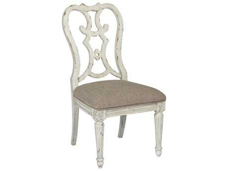 American Drew Southbury White Parchment Cortona Dining Side Chair