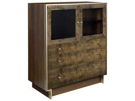 American Drew Modern Organics Smokey Quartz 42'' x 20'' Laurel Bunching Cabinet