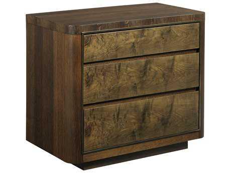 American Drew Modern Organics 34'' x 19'' Hays Three Drawer Rectangular Nightstand
