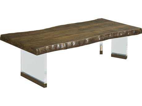 American Drew Modern Organics 53'' x 26.75'' Rectangular Brevard Live Edge Cocktail Table