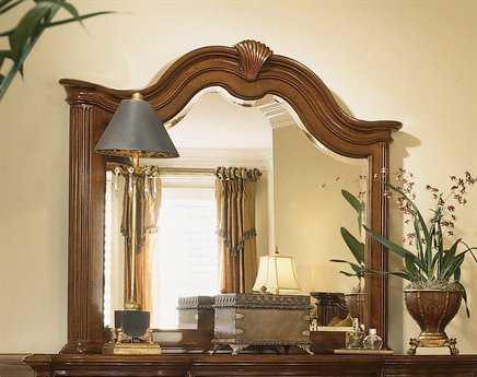 American Drew Cherry Grove 54 x 48 Classic Antique Cherry Dresser Mirror