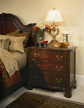 American Drew Cherry Grove Classic Antique Bachelor Nightsand