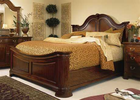 American Drew Cherry Grove Classic Antique Mansion King Bed