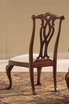 American Drew Cherry Grove Classic Antique Pierced Back Side Chair (Sold in 2)