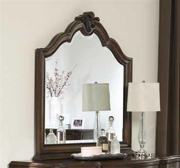 American Drew Jessica Mcclintock Couture 47 x 51 Mink Dresser Mirror