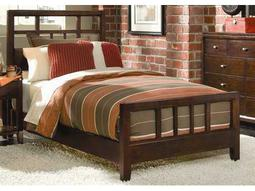 American Drew Tribecca Root Beer Color Slat Full Bed