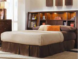 American Drew Tribecca Root Beer Color Bookcase Full Bed