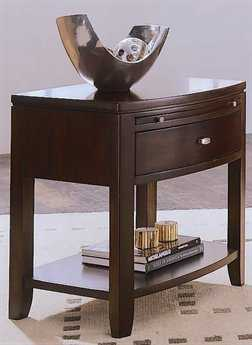 American Drew Tribecca Root Beer Color 26 x 18 Leg Nightstand