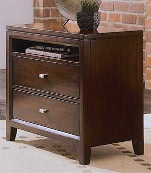 American Drew Tribecca Root Beer Color 28 x 18 Nightstand