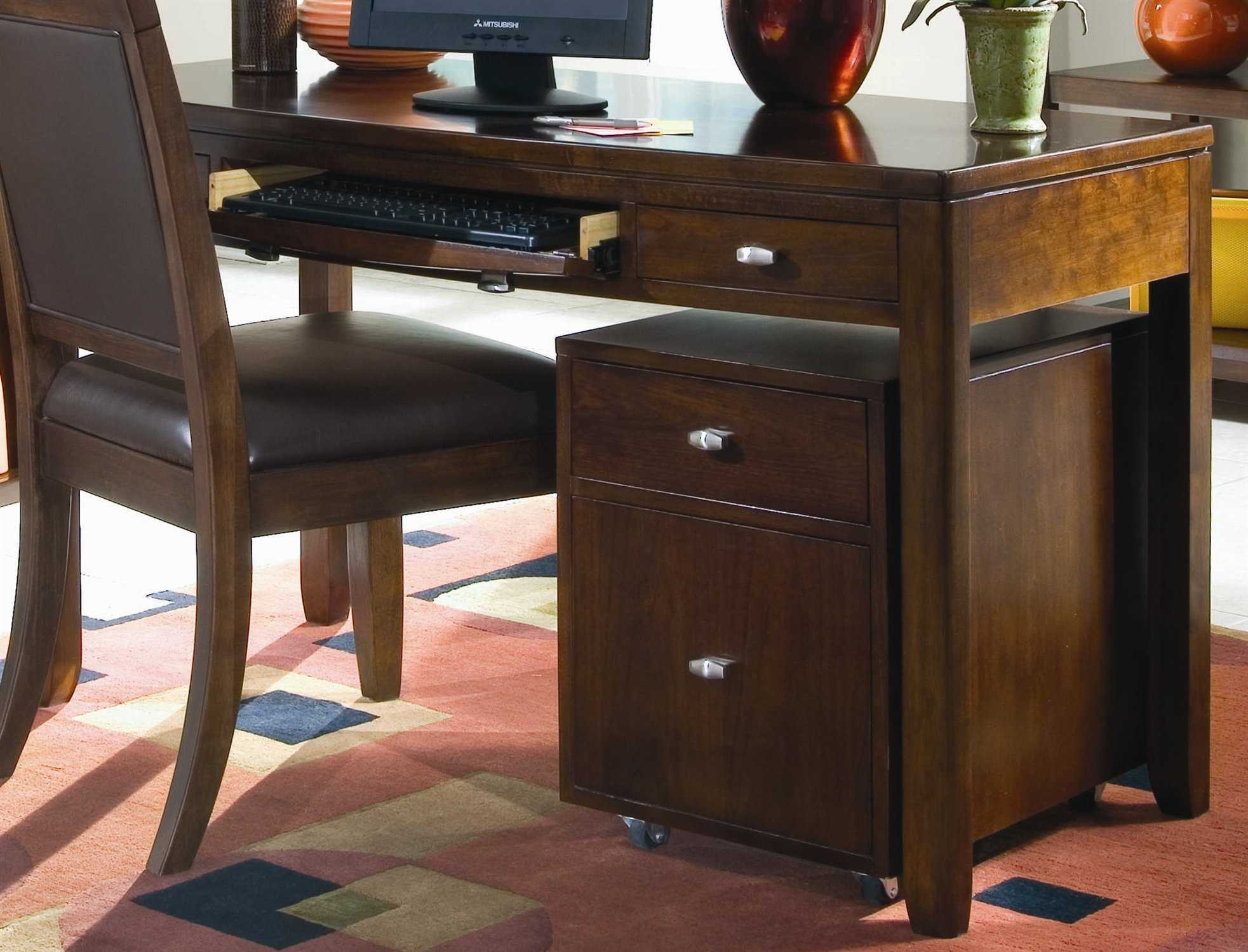American Drew Tribecca Root Beer Color 51 X 24 Desk