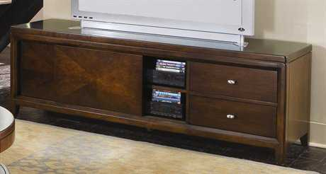 American Drew Tribecca Root Beer Color Entertainment Unit 72