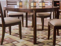 American Drew Tribecca Root Beer Color 48 Round Leg Table