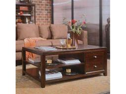 American Drew Tribecca Root Beer 50 x 30 Coffee Table