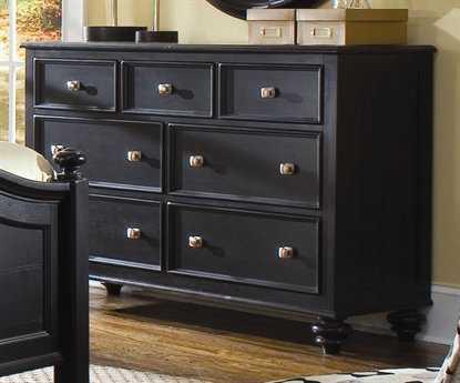 American Drew Camden Dark Black Dresser