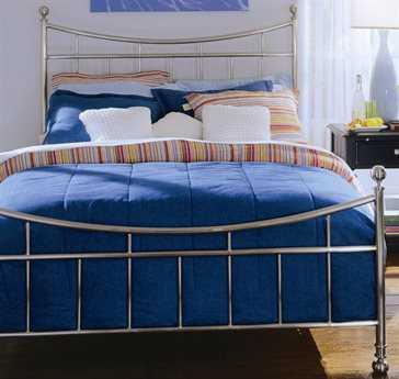 American Drew Camden Dark Nickel Metal Double Full Bed