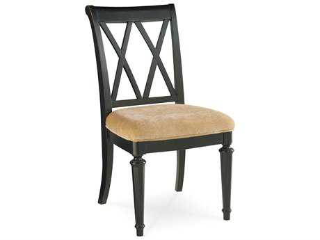 American Drew Camden Dark Black Splat Side Chair (Sold in 2)