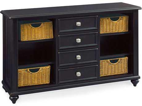American Drew Camden Dark Black 48 x 16 Console Table