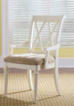 American Drew Camden Buttermilk Splat Arm Chair (Sold in 2)