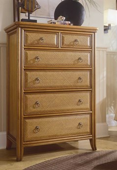 American Drew Antigua Toasted Almond Drawer Chest