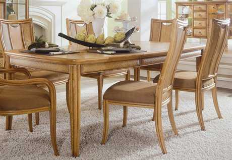American Drew Antigua Toasted Almond 64 x 44 Leg Table