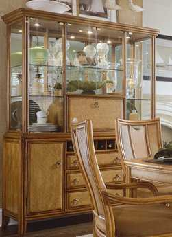 American Drew Antigua Toasted Almond China Cabinet