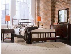 American Drew Tribecca Root Beer Color Bedroom Set