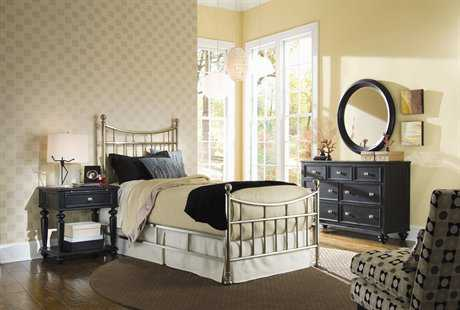 American Drew Camden Dark 4 Piece Bedroom Set