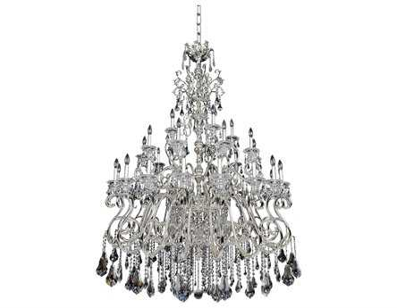 Allegri Haydn Silver 41-Light 59'' Wide Grand Chandelier
