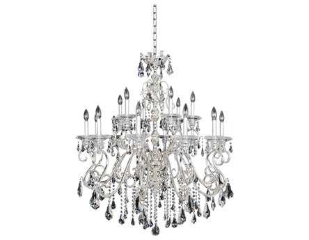 Allegri Haydn Silver 18-Light 39'' Wide Grand Chandelier