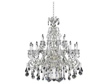 Allegri Haydn Silver 24-Light 50'' Wide Grand Chandelier