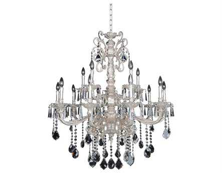 Allegri Marcello Antique Silver 15-Light 41'' Wide Grand Chandelier