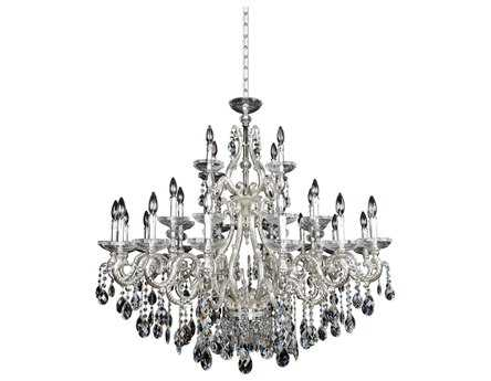 Allegri Rossi Silver 30-Light 47'' Wide Grand Chandelier