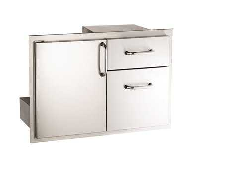 AOG 30-Inch Storage Door with Double Drawer