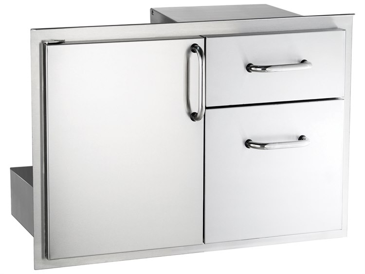 AOG 30-Inch Storage Door with Double Drawer PatioLiving