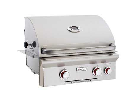 AOG T Series Built-in 24''  BBQ Grill with Rotisserie and Back Burner