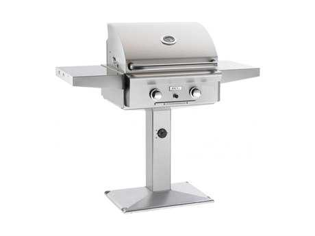 L Series Post Mount 24'' BBQ Grill