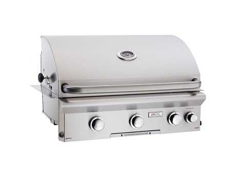 AOG L Series Built-in 30''  BBQ Grill with Rotisserie and Back Burner