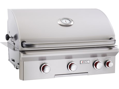 AOG T Series Built-in 30''  BBQ Grill with Rotisserie and Back Burner