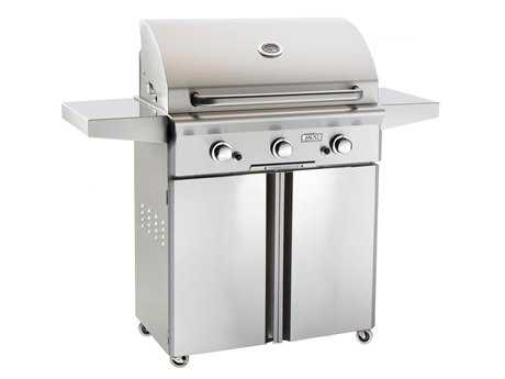 AOG L Series Portable 30'' On Cart  BBQ Grill PatioLiving