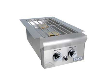 AOG Steel Built-in Double Side Burner
