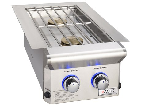 AOG Grill L-Series Drop-In Natural Gas Double Side Burner AG3282L