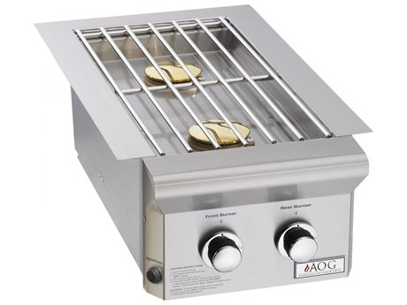 AOG L-Series Drop-In Propane Gas Double Side Burner