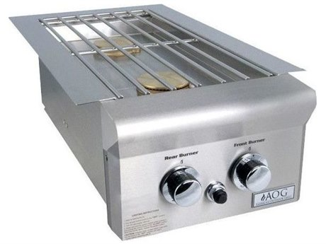 AOG T-Series Drop-In Propane Gas Double Side Burner