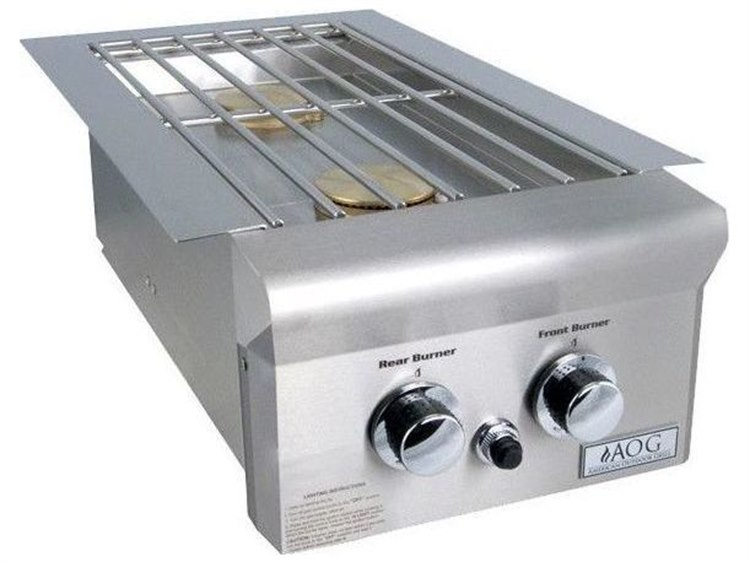 AOG T-Series Drop-In Propane Gas Double Side Burner PatioLiving